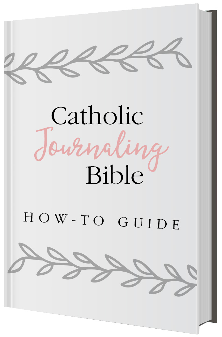 Catholic Journaling Bible How-To Guide