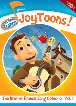 Brother Francis - JoyToons: The Brother Francis Song Collection Vol. 1 DVD