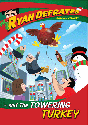 Ryan Defrates and the Towering Turkey