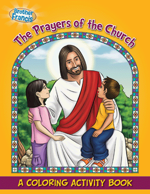 The Prayers of the Church coloring book