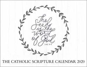 The Catholic Scripture Calendar 2020