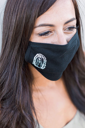 Our Lady of Guadalupe Face Mask