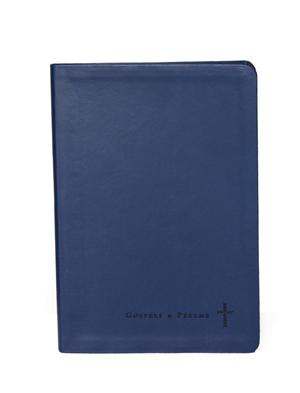Journaling Through the Gospels and Psalms, Catholic Edition: Navy Colored Cover