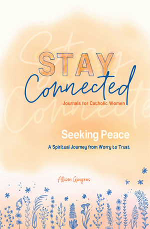 Seeking Peace: A Spiritual Journey from Worry to Trust (Stay Connected Journals for Catholic Women #5)