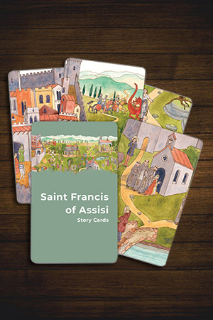 Saint Francis of Assisi Story Cards