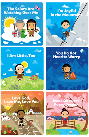 Tiny Saints Board Book Package