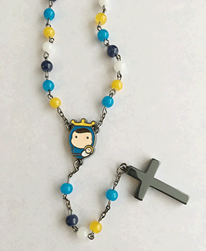 Tiny Saints-Rosary, Multi-color