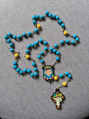 Tiny Saints-Soft Bead Rosary